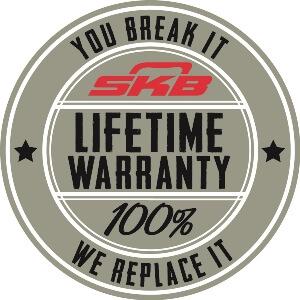 Lifetime warranty SKB